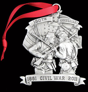 Civil War 125th Anniversary ornament