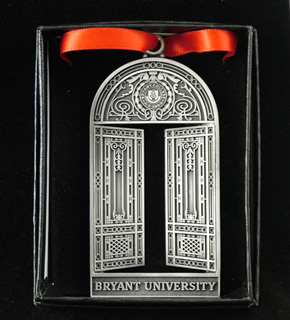 Bryant University Gates ornament
