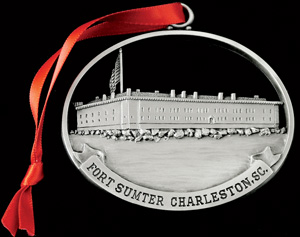 Fort Sumter ornament