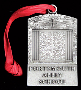Portsmouth Abbey Church Doors Ornament