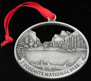 Yosemite Valley View ornament