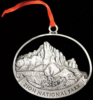 Zion National Park Ornament