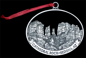 Cathedral Rock Ornament