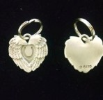 Angelwings/Horseshoe Charm